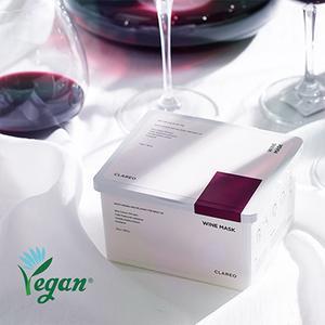 디캔트 비건 뽑아쓰는 마스크팩 클라레오 와인마스크 30매/60매(수분,진정)
