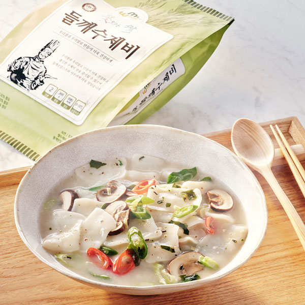 꽃보다쌀 들깨수제비(2인분) 상품이미지
